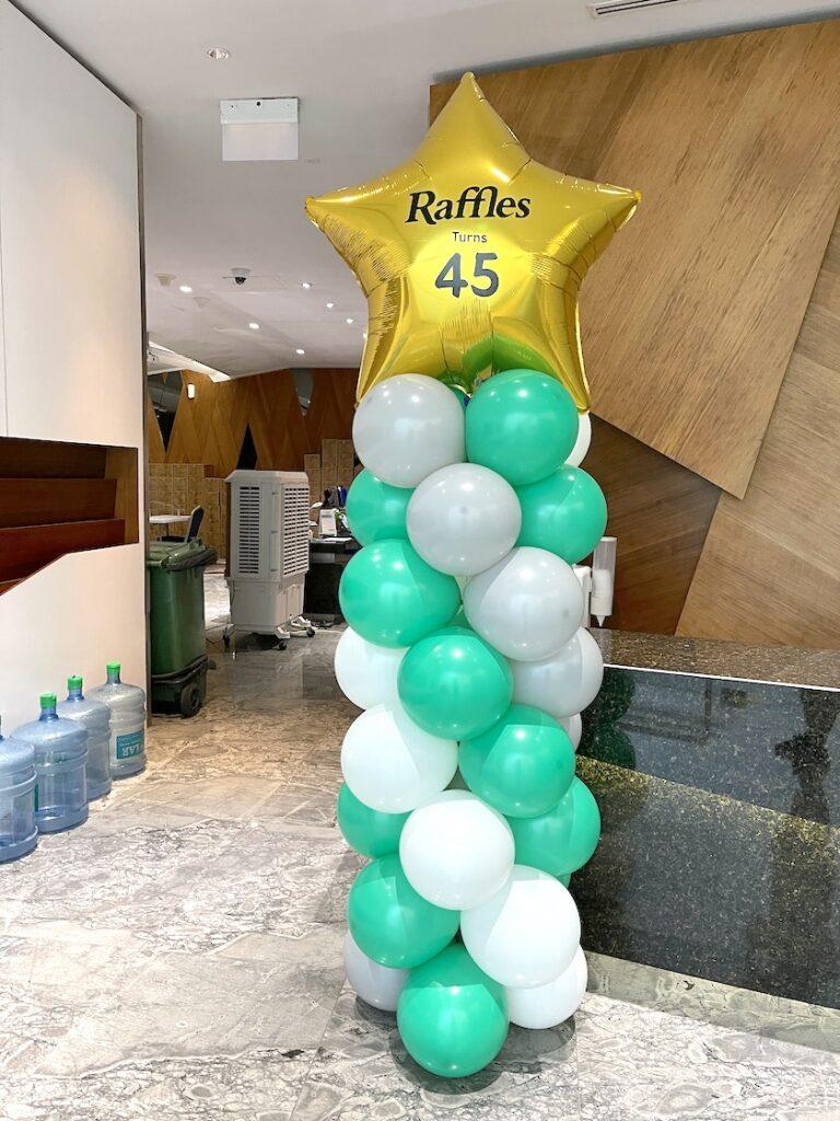 Customised Balloon Pillar Singapore