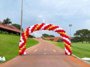 Outdoor Balloon Arch Decoration Singapore