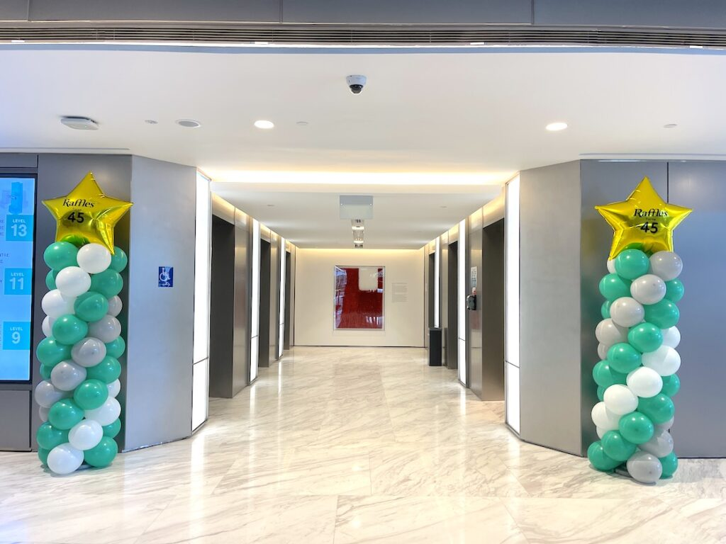 Tall Balloon Pillars for Hire Singapore