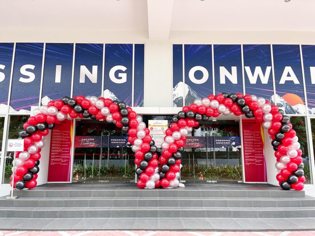 Balloon Entrance Arch for Hire Singapore