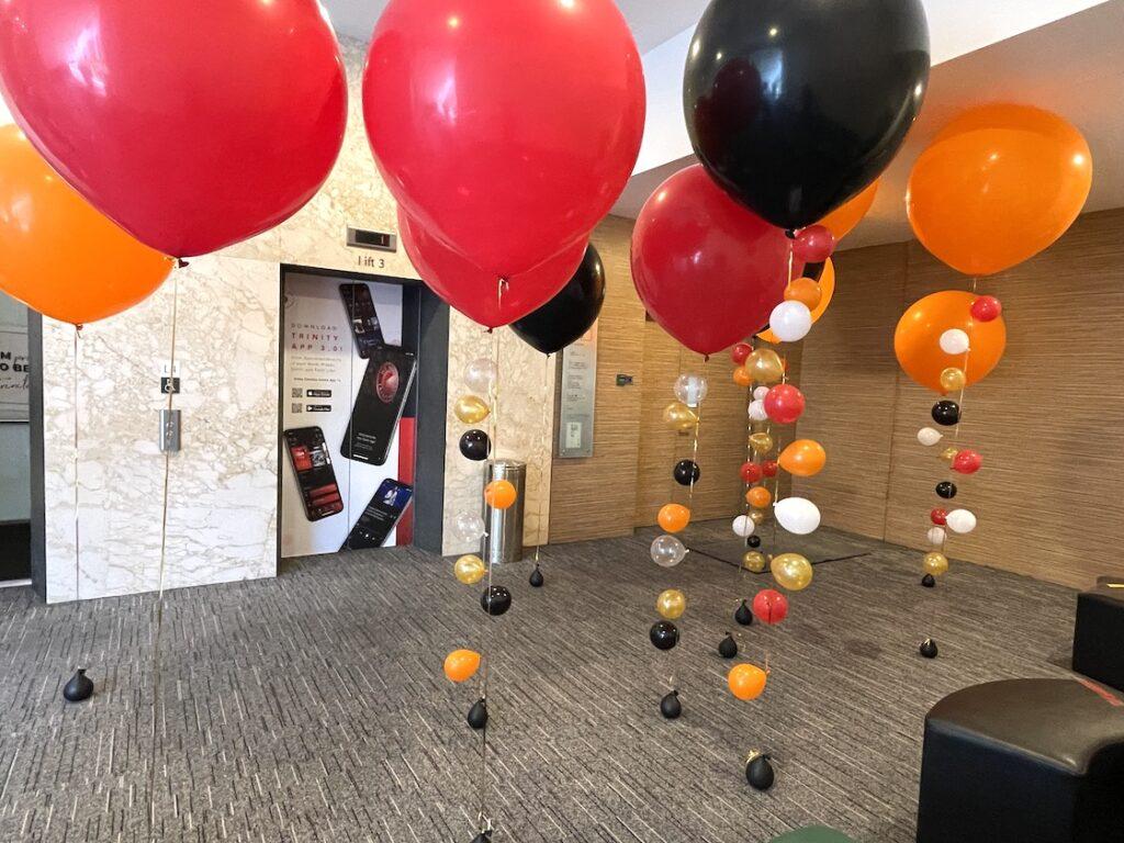Giant Helium Balloon Decorations