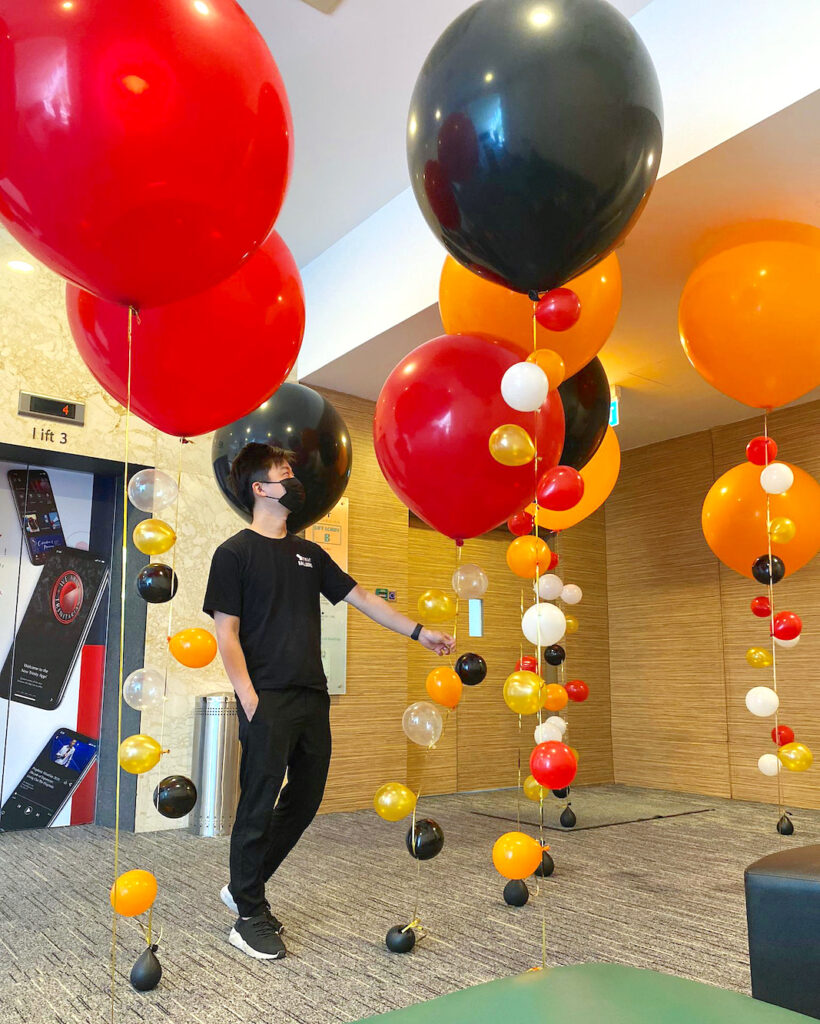 Giant Helium Balloons Delivery Singapore 1