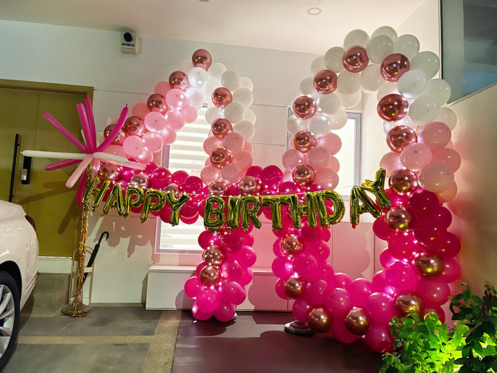 Party Balloon Number Decoration