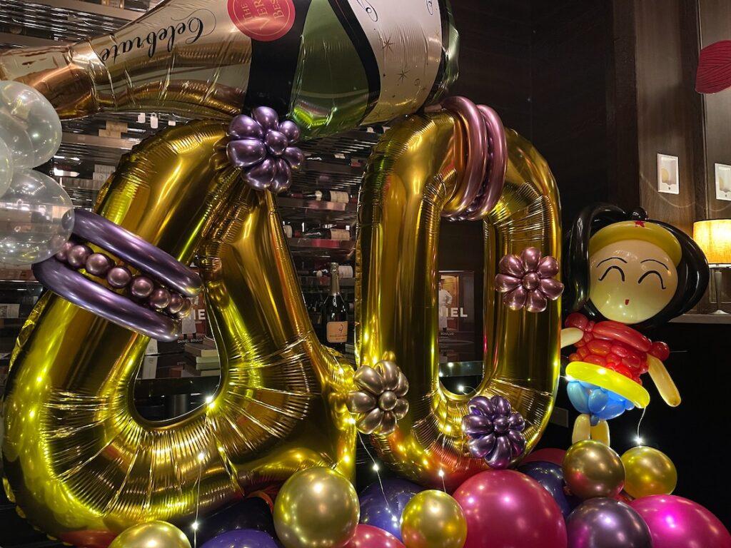 Wonder Woman Balloon Sculpture